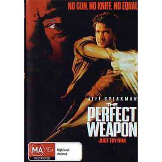 The Perfect Weapon movie DVD Jeff Speakman 2013 16726843
