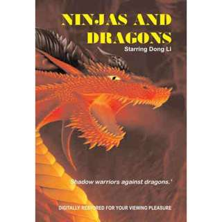 Ninjas and Dragons movie DVD Dong Li kung fu action 16726935