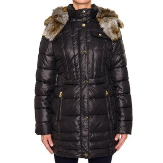 Women's Braetan Faux Fur Hood Puffer Coat