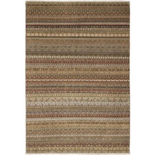 Shawl Roxie Multi Hand-knotted Rug (9' x 13'2)