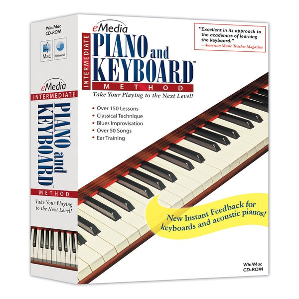 Emedia Intermediate Piano and Keyboard Method V2.0