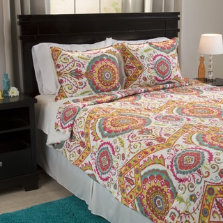 Windsor Home Francesca Reversible 3-piece Quilt Set with Sherpa