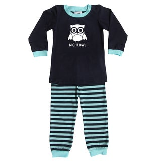Rocket Bug Night Owl Pajama Set for Infants and Toddlers