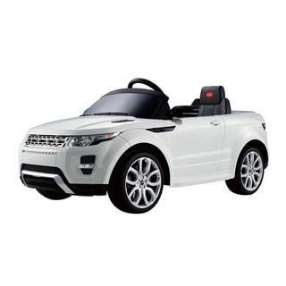 Best Ride On Cars 12V White Range Rover Evoque