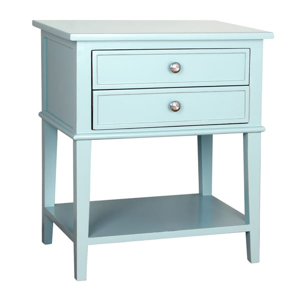 Avery 2 Drawer Side Table