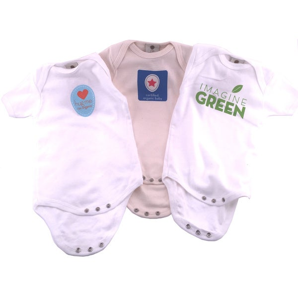 I'm Organic Boys' Bodysuits (Set of 3)