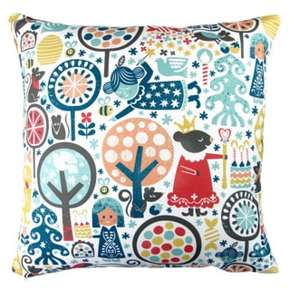Artisan Pillows 17-inch Christmas Nutcracker Winter Forest Indoor Holiday Throw Pillow