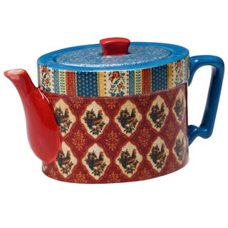Certified International French Country 36-ounce Teapot