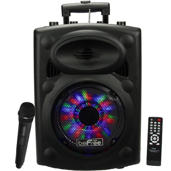 Portable beFree Sound Speaker with USB-SD-FM Radio