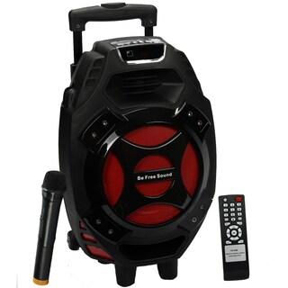 beFree Sound Portable Speaker with USB-SD-FM Radio