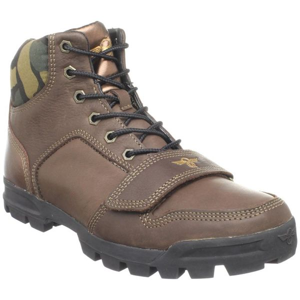 Creative Recreation Men's 'Dio' Mid Chocolate Camo Boots