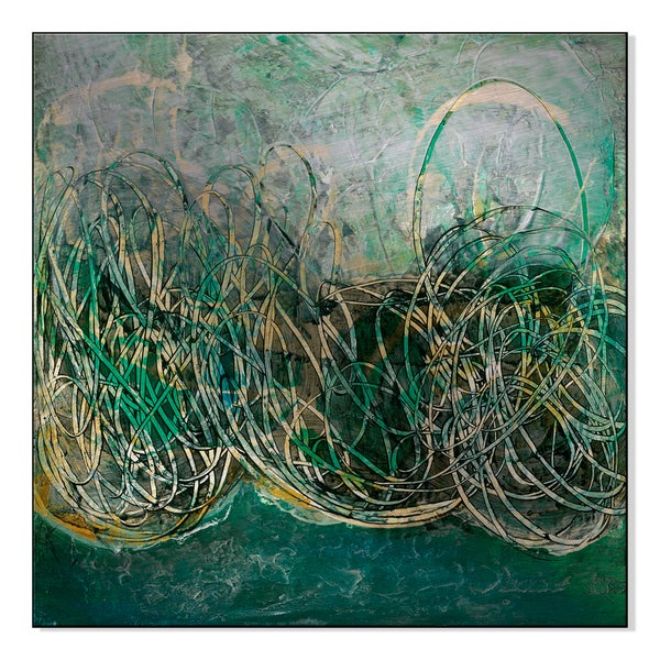 Gallery Direct Horizon II Print by Shirley Williams on Mounted Metal Wall Art 16729622