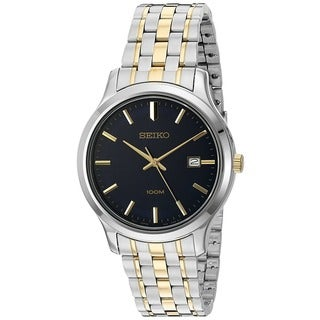 Seiko Men's SUR183 Stainless Steel 100M Water Resistant Watch