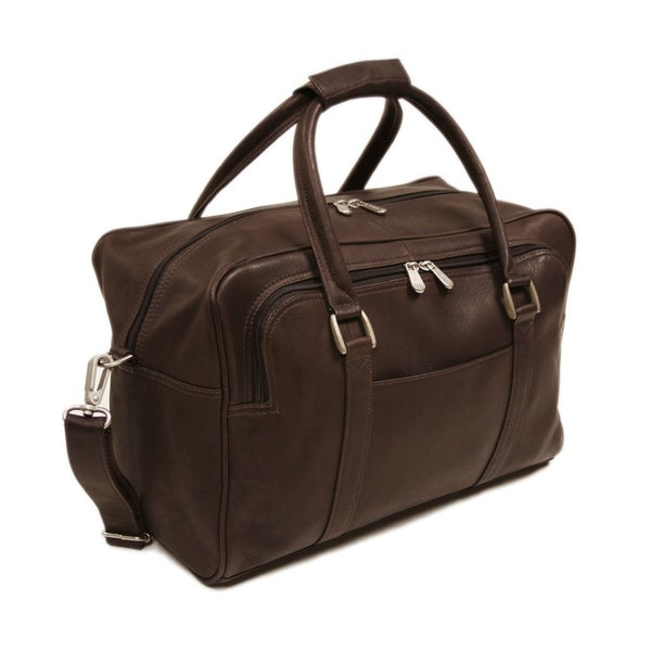 Piel Leather 15-inch Mini Carry-On Duffel Bag