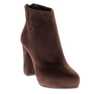 Prada Hidden Platform Ankle Booties