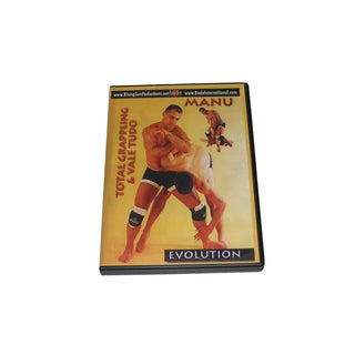 Total Grappling Vale Tudo Advanced Floor Techniques DVD Manu #2 jiu jitsu boxing