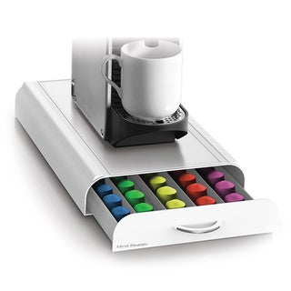Mind Reader ' Anchor' Nespresso Capsule Drawer 50 capacity White