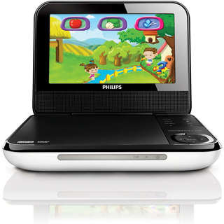 Philips PD703 7-inch Display Portable DVD Player with Gaming Controller (Refurbished)