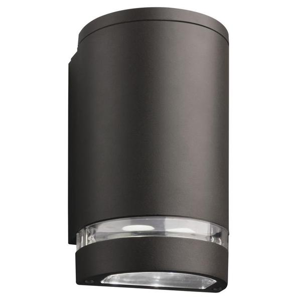 Lithonia Lighting Outdoor Bronze 4000K LED Wall Cylinder Downlight