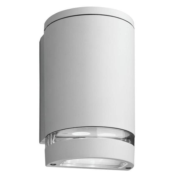 Lithonia Lighting Outdoor White 4000K LED Wall Cylinder Downlight