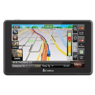 Cobra 6500PROHD 5-Inch Professional Drivers GPS Navigation System (Refurbished)