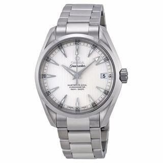 Omega Men's 23110392102002 Seamaster Silver Watch