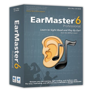 EarMaster 6 Professional (Windows)