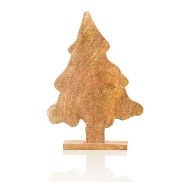 "Lodge Collection 18"" Wood Tree Pack of 2"