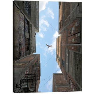 Cortesi Home 'Afternoon Alley' by Cynthia Decker Giclee Canvas Wall Art