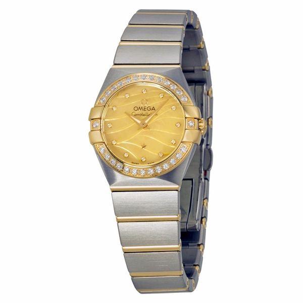 Omega Women's 12325246057001 Constellation Gold MOP Watch