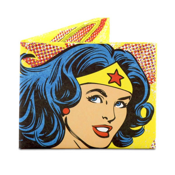 The Mighty Wallet Wonder Woman Vintage Comic Strip DC Water resistant