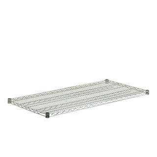 steel shelf-800lbs chrome 18x48