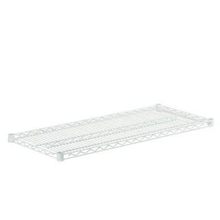 steel shelf-800lbs white 18x42