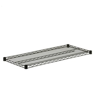 steel shelf-800lbs black 18x42
