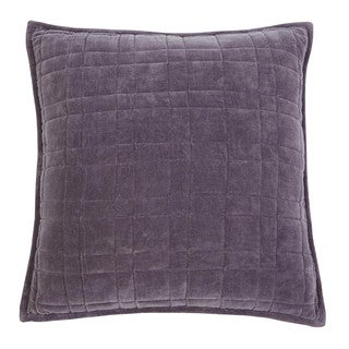 Signature Design by Ashley Patterned Plum 22-inch Pillow Cover
