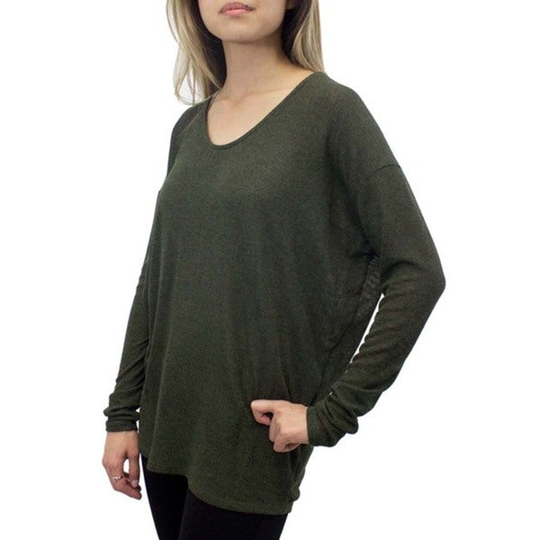 Relished Moss Dolman Sleeve Sweatshirt
