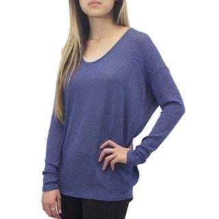 Indigo Dolman Sleeve Sweatshirt