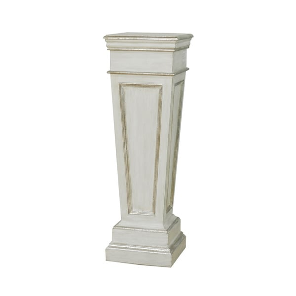 White Peak Decorative Pedestal