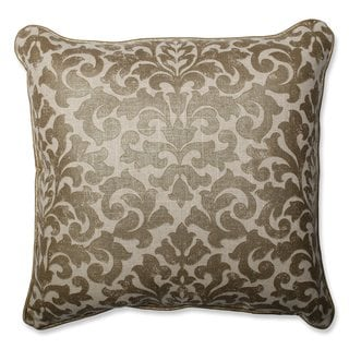 Pillow Perfect Glam Packed Gilt Throw Pillow