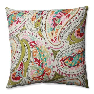 Pillow Perfect Franz Rainbow Throw Pillow