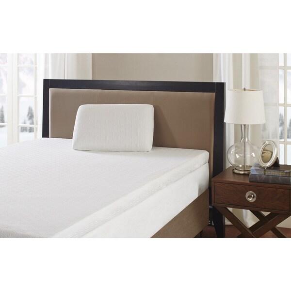 Flexapedic by Sleep Philosophy Gel Memory Foam Standard Pillow