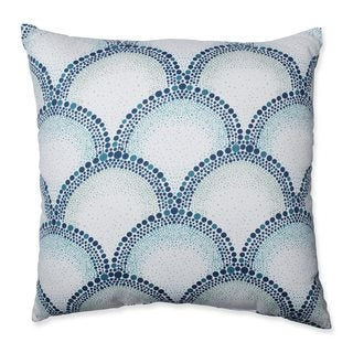 Pillow Perfect Shelamar Teal Throw Pillow