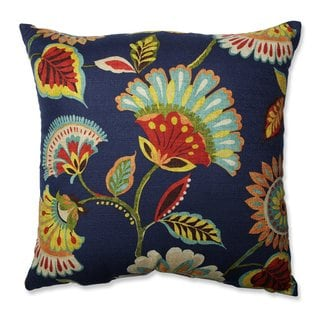 Pillow Perfect Ailey Prussian Throw Pillow