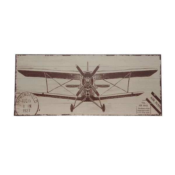 Bombay Company Vintage Plane Wall Art
