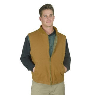 Stanley Men's Washed Sherpa Lining Canvas Vest
