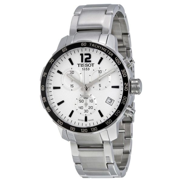 Tissot Men's T0954171103700 'Quickster' Chronograph Stainless Steel Watch 16731550
