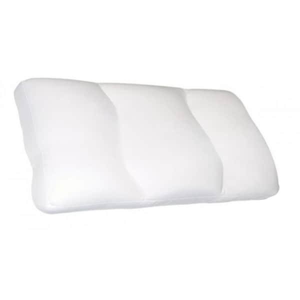 Comfort Cloud Microbead White Pillow