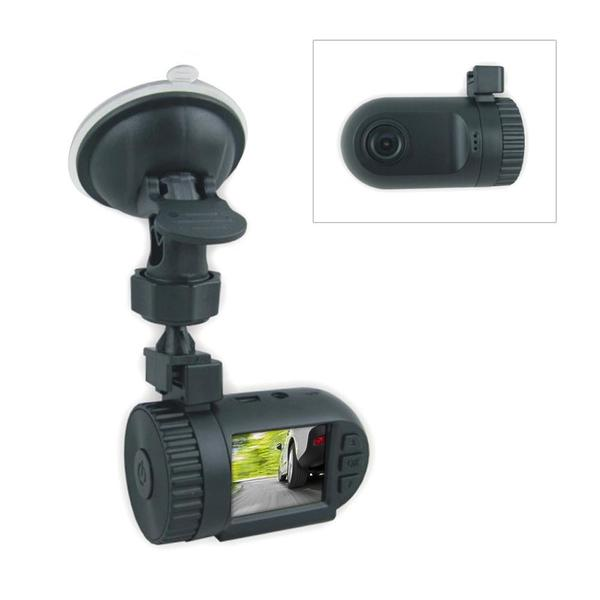 Pyle PDVRCAM11 1080p DVR Night Vision Compact HD Dash Cam with LCD Display