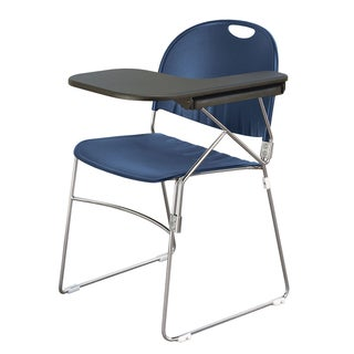 Polypropylene Sled School Chair with Left Writing Tablet