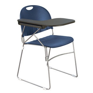 Polypropylene Sled School Chair with Right Writing Tablet